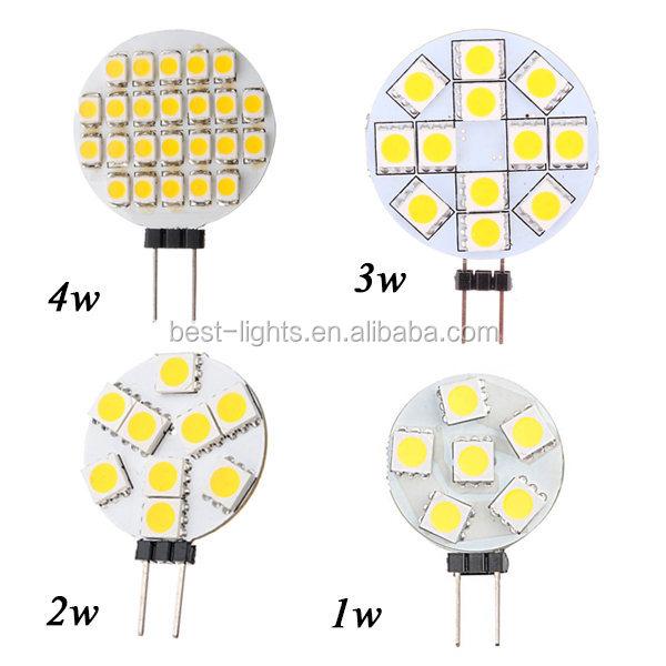 CE RoHS 300 lm 5050 SMD 3W high lumen g4 led lights, View ...
