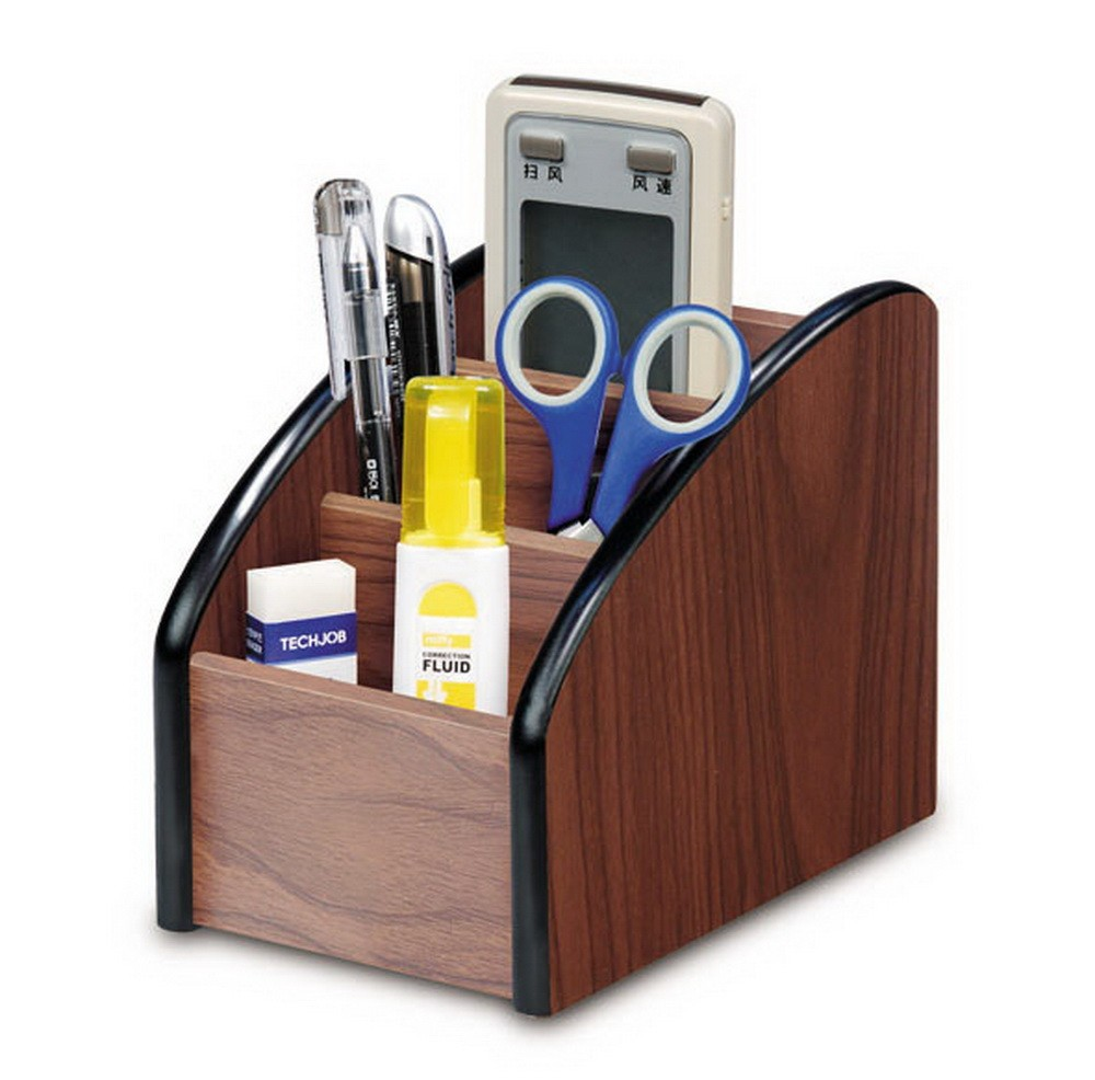office pen holder. Office Supplies MDF Material Desk Organizer Pen Holder