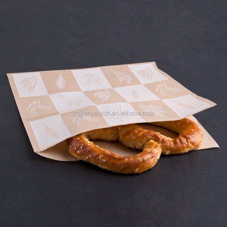 Greaseproof Paper for Deli Wrapping Double Open Bag