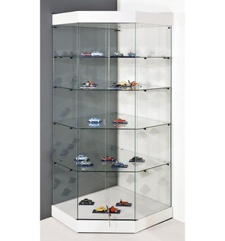 Commercial Toy Car Model Glass Display Showcase Design Cabinet