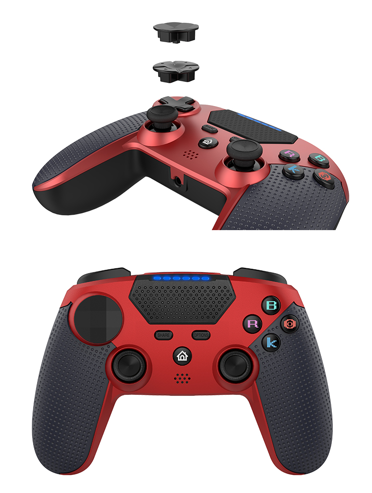 Video Game Wireless Controller untuk PS4 Controller Wireless Bluetooth Gamepad