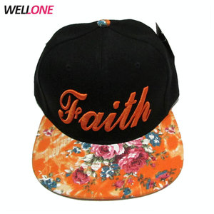 China factory OEM service hip hop streetwear style two tone black cap 3D custom embroidery snapback hats wholesale