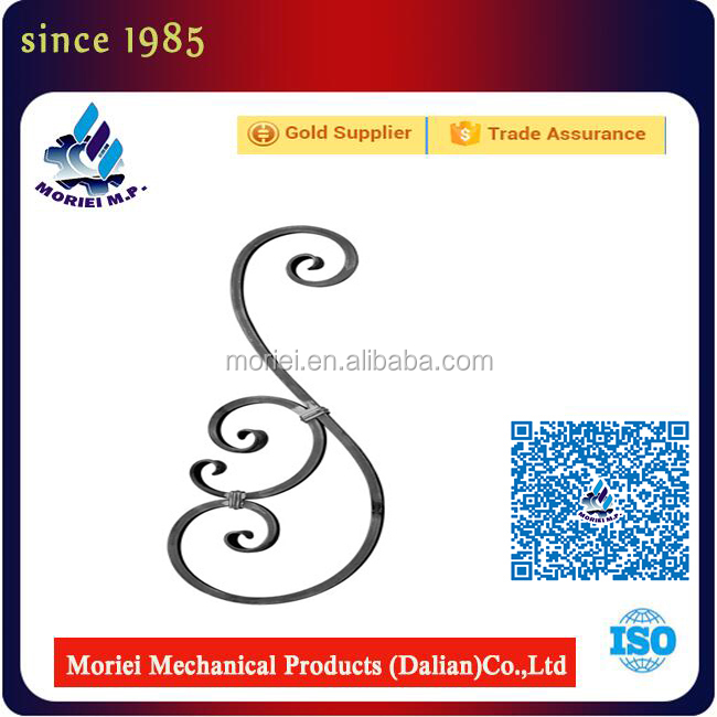 Brand New Wrought Iron Art Accessories Cast Leaves With High Quality