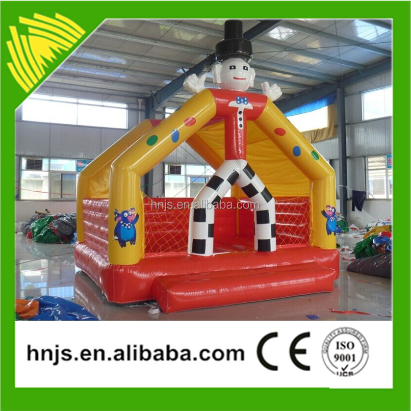 Lovely cartoon character inflatable bouncy castle for sale