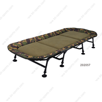 Outdoor fishing products carp fishing steel bed chair for carp fishing BTI-202057(B15)