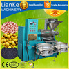 LK125 Automatic new type multifunctional screw oil mill sunflower/line seed oil press machine