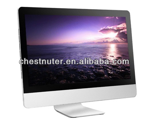"China factory 18.5"" Intel Atom dual core D525 1080P all-in-one PC 2GB 4GB 500GB/1TB desktop laptop computer all in one pc"