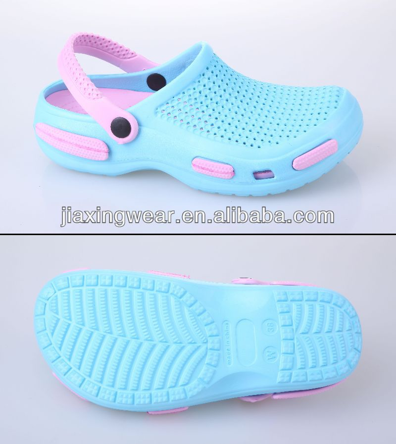 Injection ballet clog for beach and promotion,light and comforatable