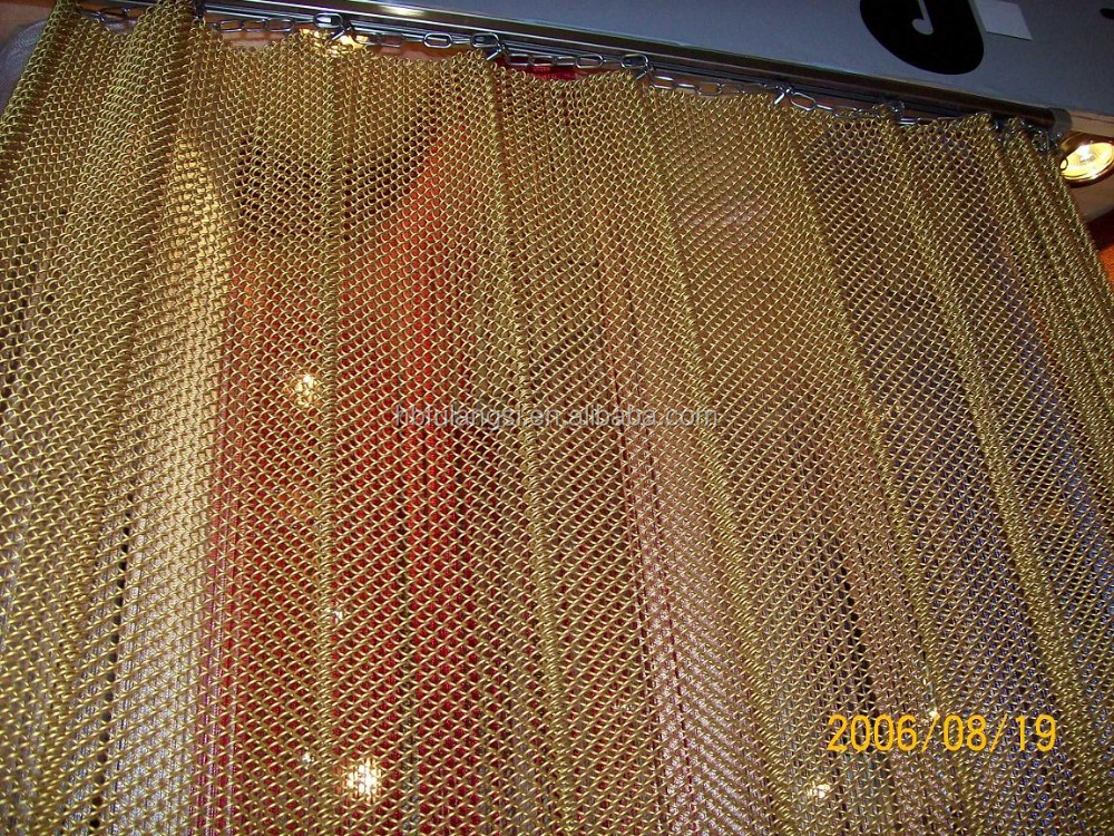 Best Price Decorative Chain Link Curtain Mesh Decorative