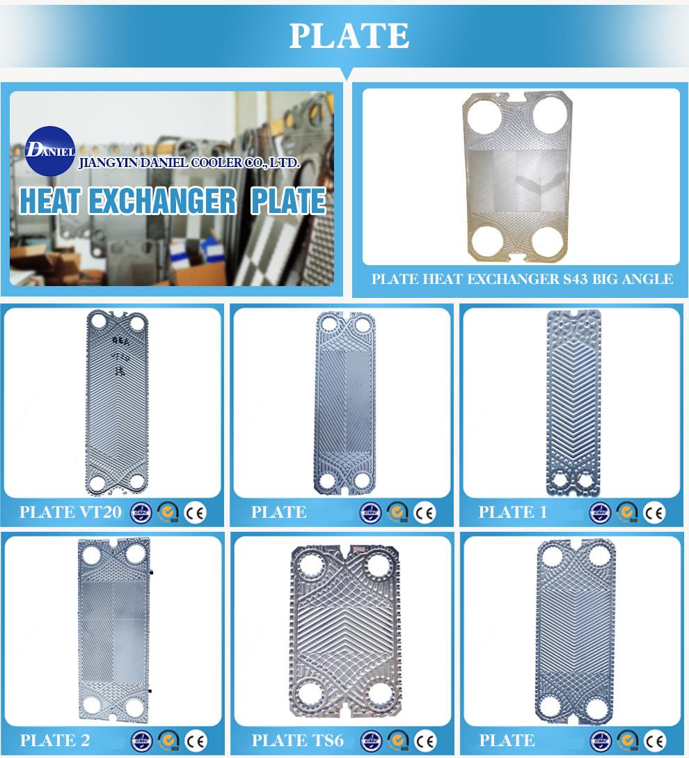 Jiangyin Daniel Cooler Co., Ltd. - gasket,heat exchanger gasket