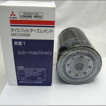 Mitsubishi 4m40 Engine Oil Filter,6d31 Engine Oil Filter Me088532/me228898  For Sk200-3/sk250-6e - Buy Engine Oil Filter,Mitsubishi Oil Filter,4m40 Oil