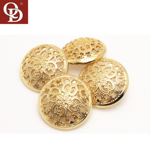 Garment Accessories Western Sew Metal Buttons for Shirts Coats