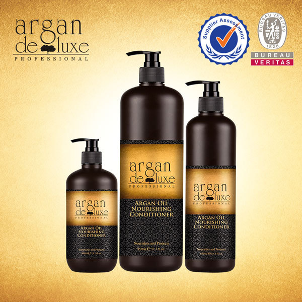 private label Argan deluxe 300ml bottles shampoo with argan oil