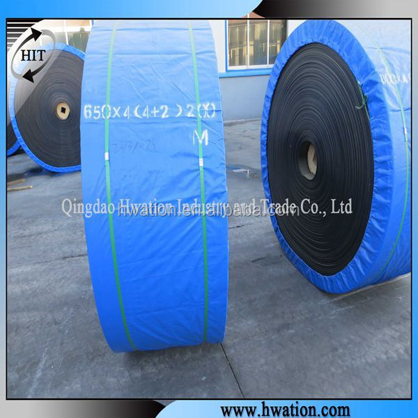 extension rubber nylon/nn conveyor belt