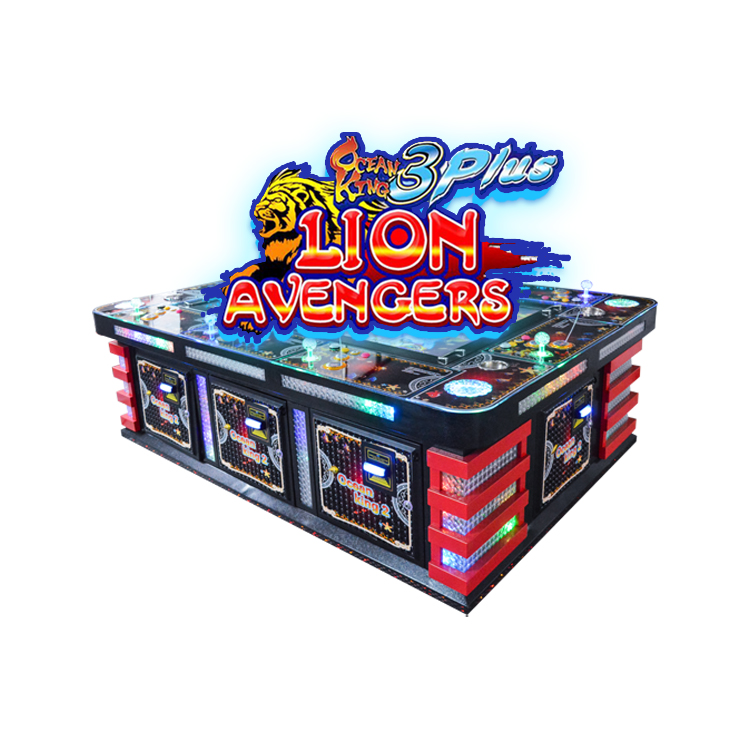 Arcade Game Oceaan Jacht Vissen Game Machine 8 Spelers Vis Machine Gokken Tafel
