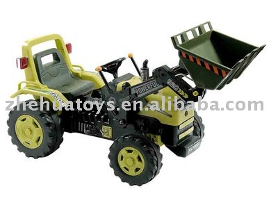 Ride on Tractor/Pedal Car with pedal bike