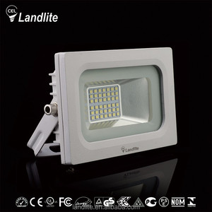 Landlite Manufacturer Tempered Glass 1400lm Led Lighting Floodlight White Outdoor Led Flood Light 20W