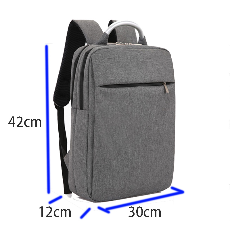Cyshmily 17 Inch Nylon Waterproof Anheft Computer Bags Fashionable Slim Laptop Backpack