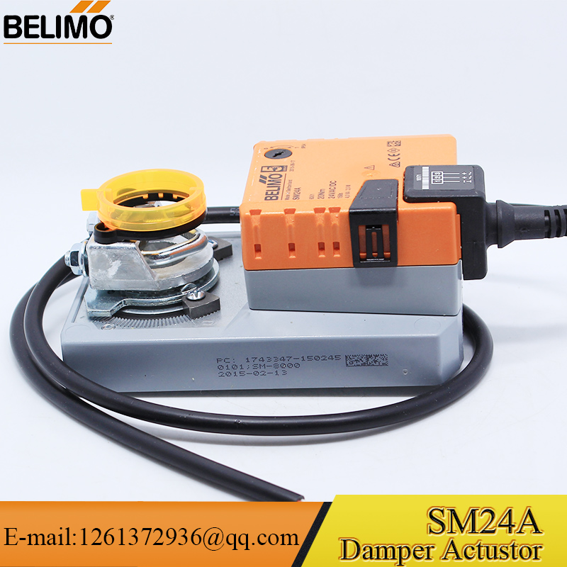 HVAC Belimo Modulating Motorized Air Damper Actuator SM24A
