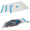 Multi size home daily use transparent space saver vacuum bags