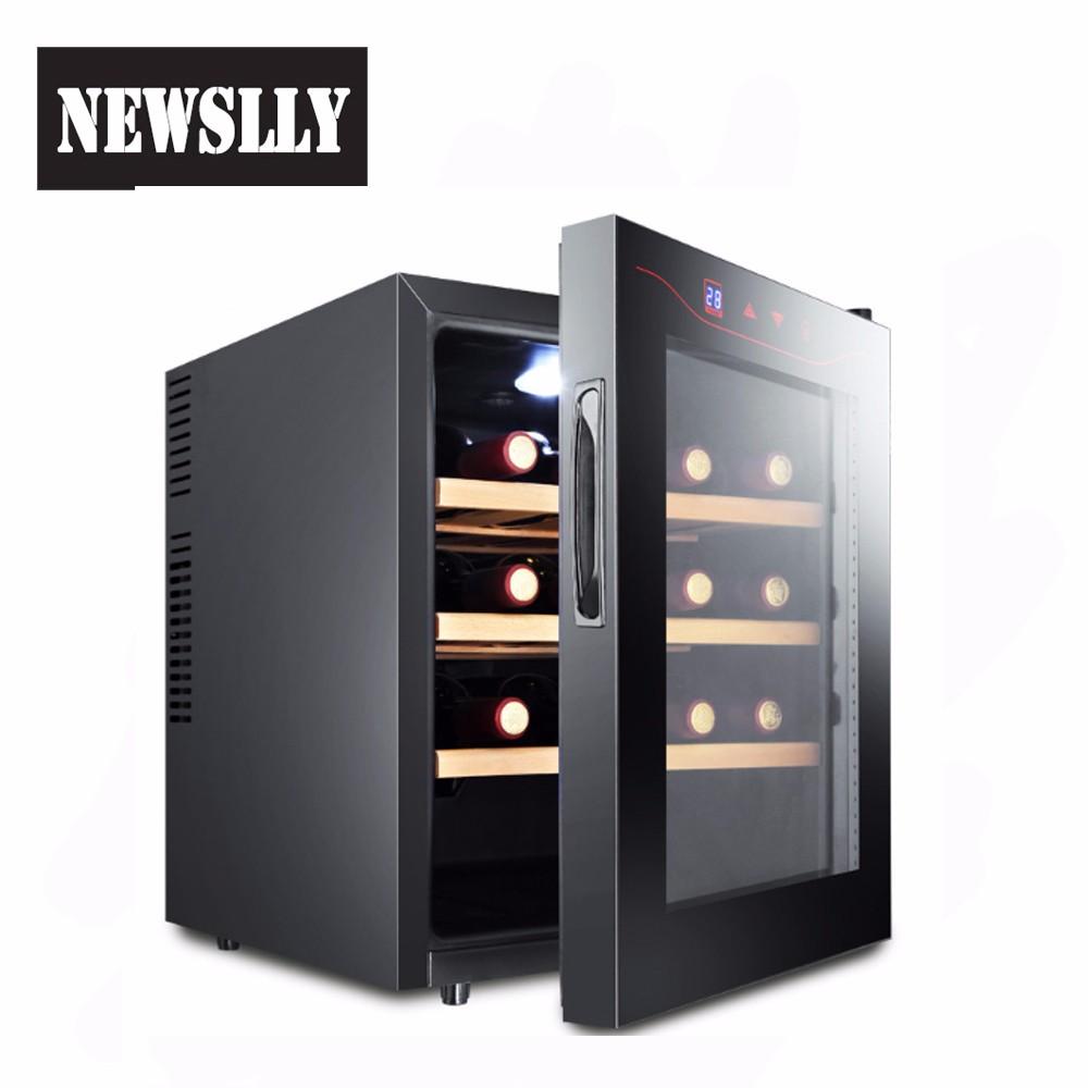 New Counter Top Small Wine Fridge Dual Zone Wine Cooler Wine Fridge Cabinet