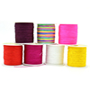 XULIN High Quality Colorful Chinese Knotting Cord for Jewelry Making from Yiwu