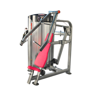 low price commercial gym muscle training seated chest press import sports equipment