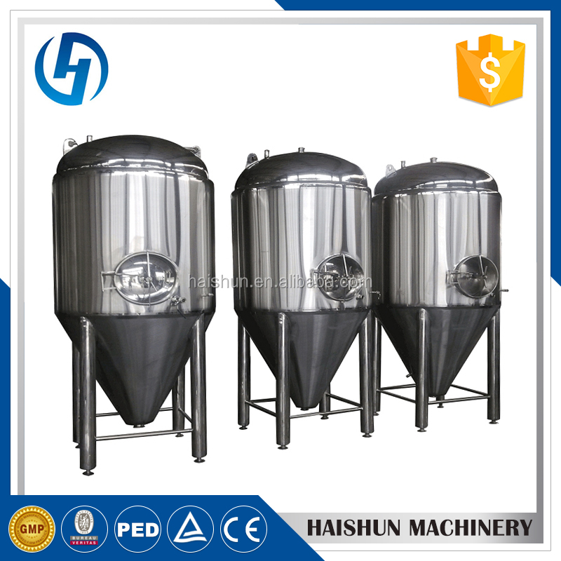 Professional Factory 60 bbl conical beer fermenter