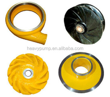 heavy brand pump anti wear anti abrasive impeller manufacturer from shijiazhuang
