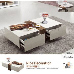 two drawer coffee table max studio home furniture mdf table