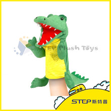 High Quality Professional Design Minion Dinosaur Hand Puppet Plush Toy