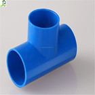 Plumbing ASTM D 1785 Pipe Fittings SCH80 PVC Equal Tee