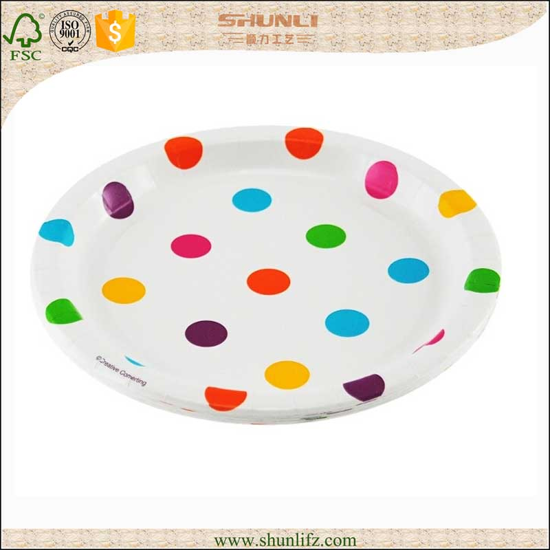 design your own Colorful print paper plates for birthday party decoration packages  sc 1 st  Alibaba & Design Your OwnColorful Print Paper Plates For Birthday Party ...