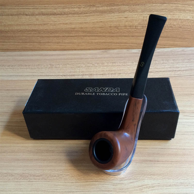 1pcs Hot Sale High Grade New Fashion Durable Smoking Pipes Wooden