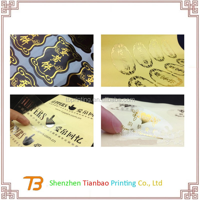 China Factory Cheap Label Sticker Printing