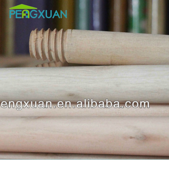 customized Good polishing natural forest timber wood for broom and mop