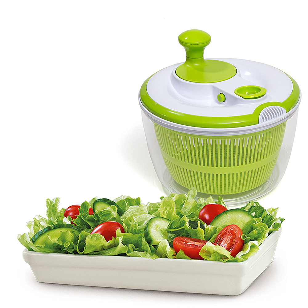 Small Plastic Vegetable Collapsible Salad Spinner