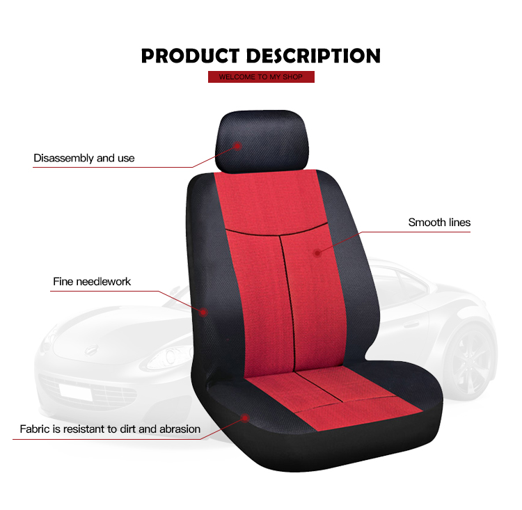 Car Accessories New Arrival Universal Size Customized Luxury Car Seat Cover