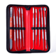 Dental Stainless Steel 10 sets of wax carving tools for cleaning teeth