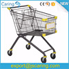 Euro style Supermarket Shopping Equipment Trolley
