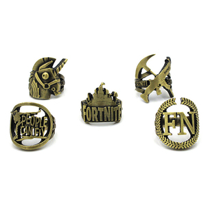 2019 New Arrivals Game Jewelry Five Styles Fortnite Rings