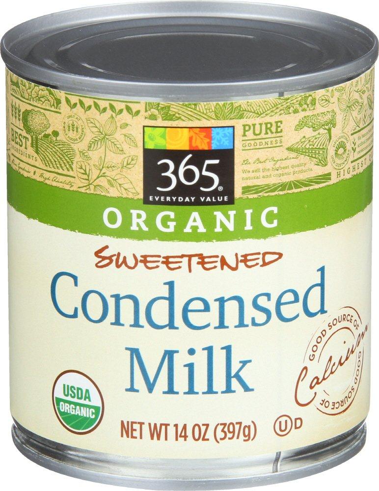 365 Everyday Value Organic Sweetened Condensed Milk, 14 Ounce