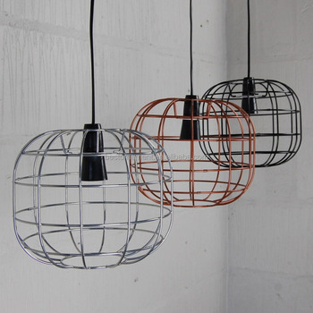 Faraday cage lamp industrial metal wire pendant light bar restaurant faraday cage lamp industrial metal wire pendant light bar restaurant lighting lampshade greentooth Gallery