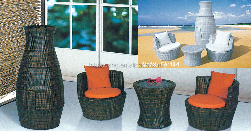 factory outlet outdoor rattan resin wicker patio garden furniture 3