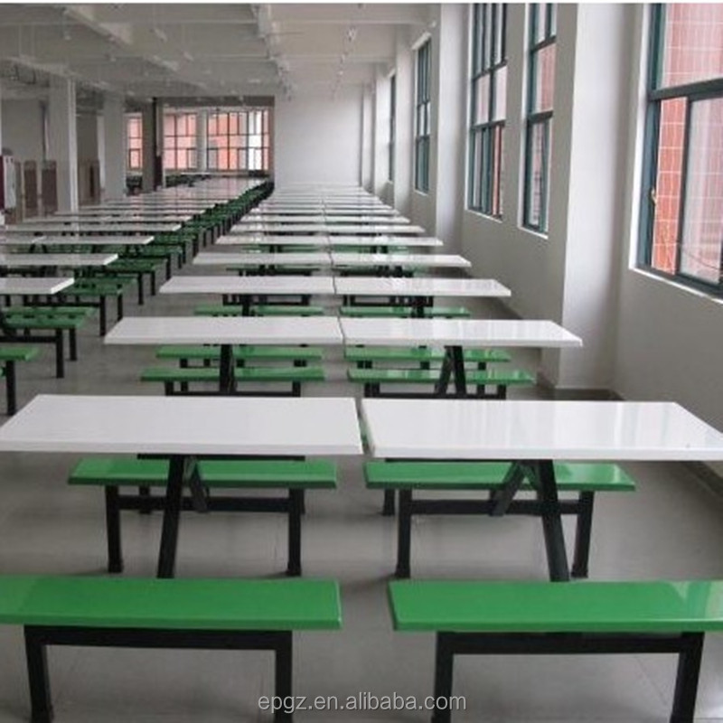 Modern Cheap School Canteen Table And Chair Dining Parts Restaurant For Sale