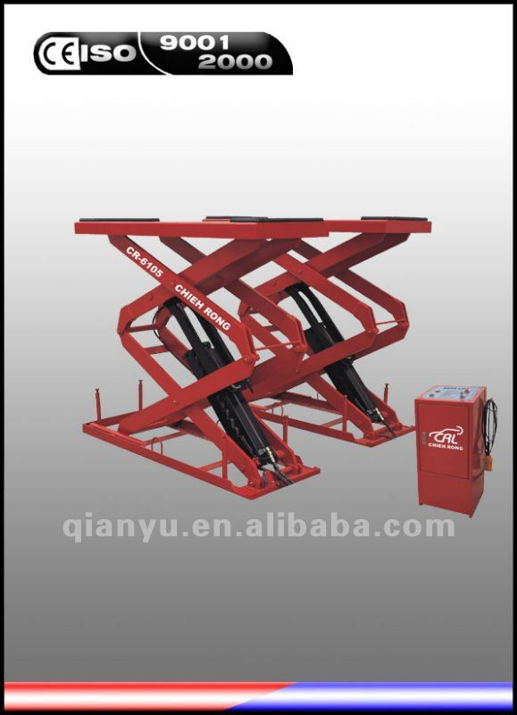 car lift full rise underground type 3tons CR-6105