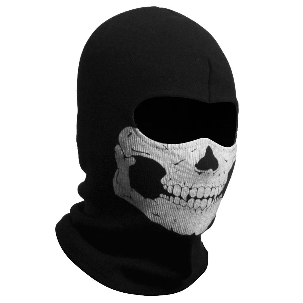 Call Of Duty Cod 10 Ghosts Logan Balaclava Ski Skull Hood: Ghost Skull Balaclavas Skiing Airsoft Paintball Sports