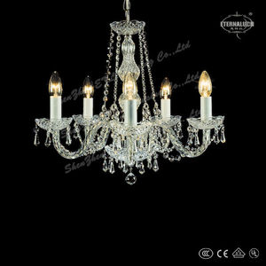 2018 hot sale Georgian style crystal home chandelier ETL88005