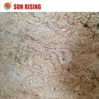 New Color Kashmir Gold Yellow Granite Slab For Sale