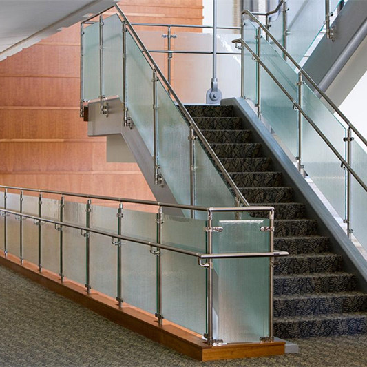 Attractive Modern Design Tempered Curved Glass Stair Railing/balustrade For America    Buy Outdoor Fence Temporary Fence,Glass Balustrade Mounts,Safty Fence  Product On ...